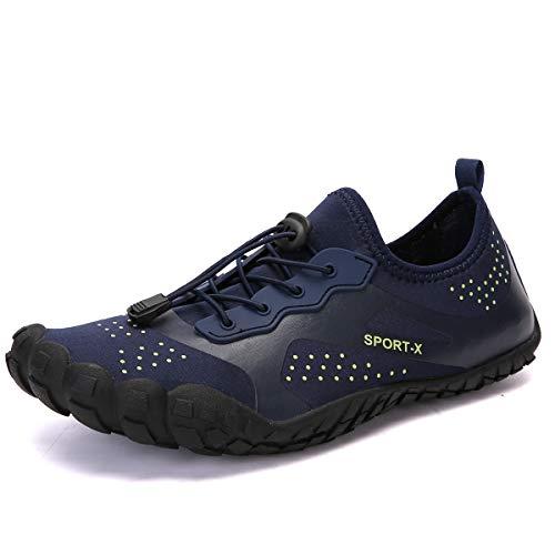 ZOEASHLEY Barfußschuhe Herren Damen Outdoor Fitnessschuhe Sommer Trekking Schuhe 36-46