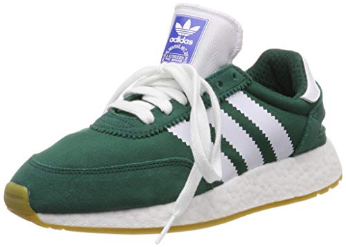 adidas Women's I-5923 W Gymnastics Shoes, Green (Collegiate Green/Ftwr  White/Gum 3), 9 UK (43 1/3 EU)