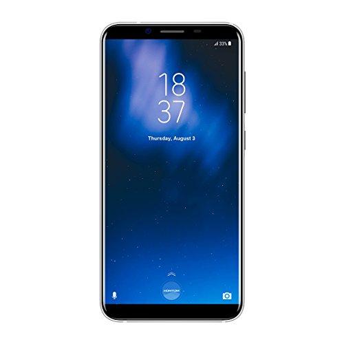 "HOMTOM S8 - 5,7"" 4G FDD-LTE Smartphone Libres, Android 7.0 Octa Core 4GB+64GB, Cámara 16MP+5MP con 13MP, Sensor de Huella Dactilar, Dual SIM, Carga Rápida, Azul Teléfono Móvil"