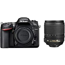 Nikon D7200 24.2 MP Digital SLR Camera (Black) with AF-S 18-105mm VR Kit Lens and Card, Camera Bag