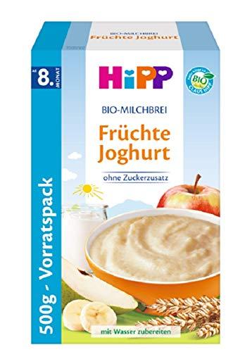 HiPP Bio Milchbrei Früchte Joghurt, 4er Pack (4 x 500 g)
