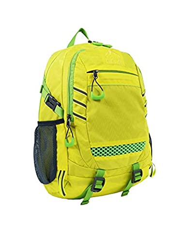 Outdoor Gear 1211 Waterproof Backpack and Rucksack - Yellow, 20 Litre