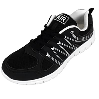 Mens Shock Absorbing Running Trainers Jogging Gym Fitness Trainer Shoe UK 7