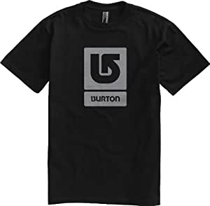 Burton Herren T-Shirt Logo Vertical Short Sleeve, true black, L, 287523002L