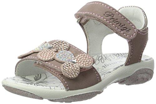 Primigi Mädchen Pbr 7595 Offene Sandalen mit Keilabsatz, Beige (Taupe/Taupe), 32 EU