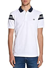Fred Perry Homme FPM156221100 Blanc Coton Polo