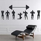 Wandtattoo Wohnzimmer Wandtattoo Schlafzimmer Gewichtheber Gym Sticker Wohnzimmer Spielzimmer...