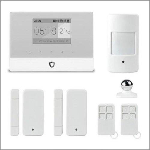 Preisvergleich Produktbild Alarm GSM Diebstahl Kontrolle Schutzhülle Speicherung QR Code Kamera Wifi