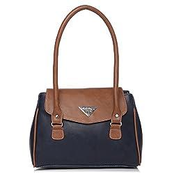 Fostelo Women's Della Shoulder Bag (Blue) (FSB-718)