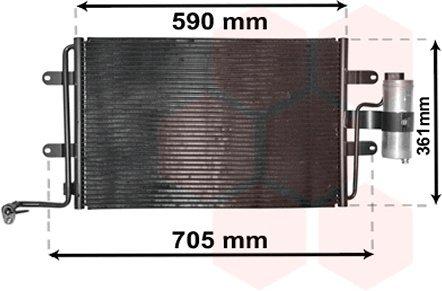 Van Wezel 3015130-Condensatore, impianto aria condizionata