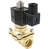 heschen Messing Elektrisches Magnetventil 2WK200–20PT 3/4DC 12V Direct Action Wasser Air Gas Normalerweise offen