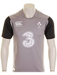 2014-2015 Ireland Rugby Training Jersey (Grey)