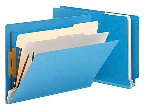 Smead End Tab Classification File Folder, 2 Divider, 2