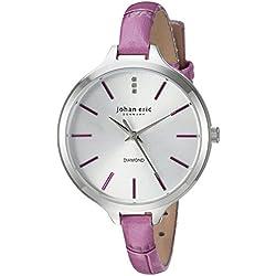 Johan Eric Women's JE2100-04-001.13 Herlev Slim Analog Display Quartz Pink Watch