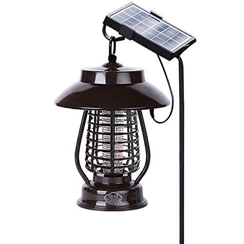Moskito-Mörder Drahtlose Sonnenmoskito-Mörder-Lampe/USB/Sockel, UVlampe-Moskito-tragbares Solarlicht für kampierendes Fischen oder Wandern lädt -