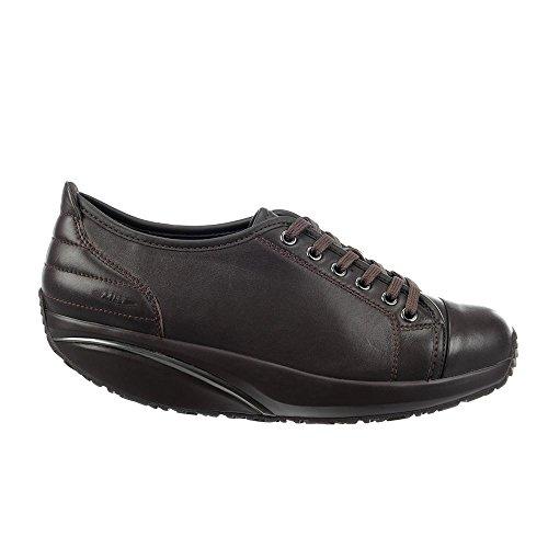 MBT Batini, Sneakers basses femme Marron - black coffee nappa