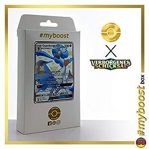 Guardevoir-GX SV75/SV94 Variocolor - #myboost X Sonne & Mond 11.5 Verborgenes Schicksal - Box de 10 cartas Pokémon Alemán