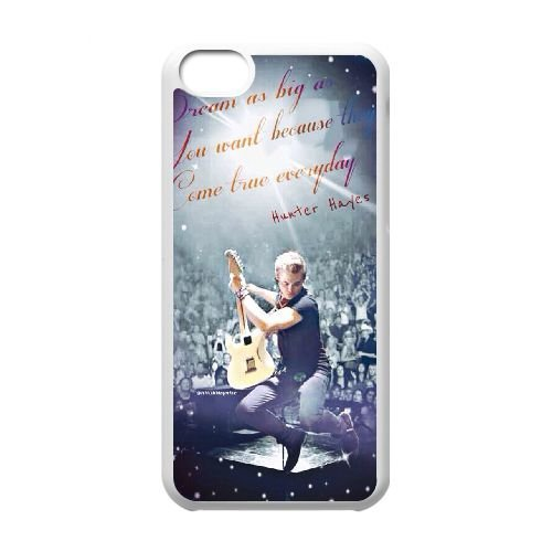 DIY Case Cover for iPhone 5c w/ Hunter Hayes image at Hmh-xase (style 9)