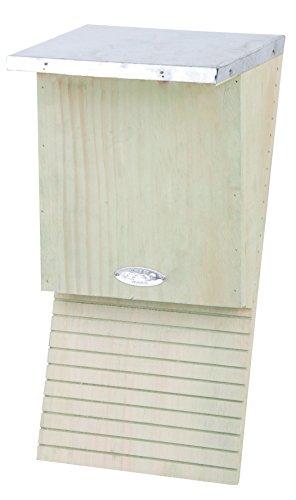 Esschert Design Fledermauskasten, Fledermaushaus, ca. 18 cm x 17 cm x 39 cm