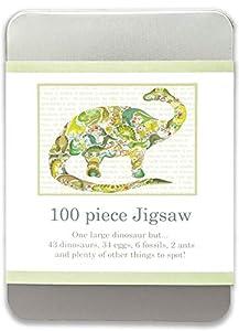 Louise Tate Illustration 745577367452 - Puzzle de Dinosaurio (100 Piezas)