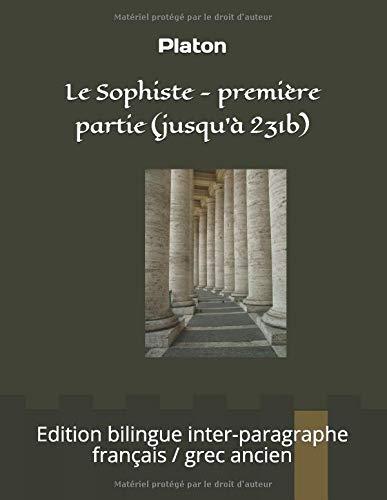 Zoom IMG-2 Le Sophiste premi re partie