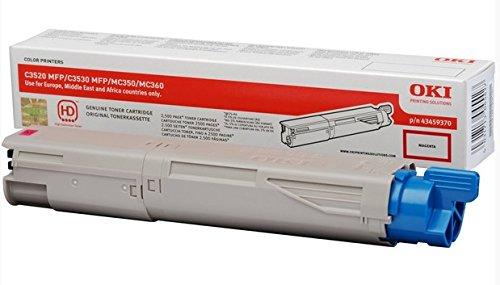 OKI - Magenta - Original - Tonerpatrone - für OKI MC350, MC360\\; C3520 MFP, 3530 MFP, 3530n MFP