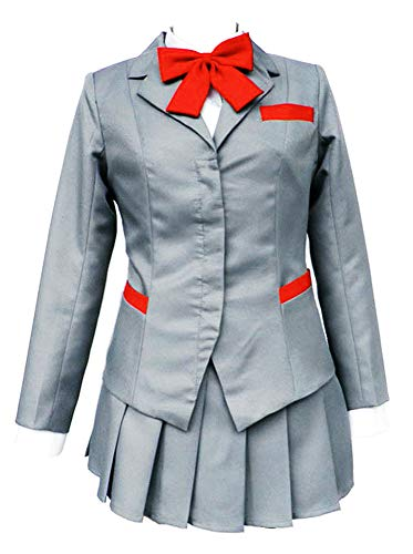 Chong Seng CHIUS Cosplay Costume Winter Uniform for Inoue Orihime Karakura High School