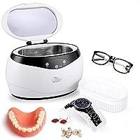 ultrasonico Dispositivo di Pulizia Professionale Pulizia di Gioielli 6 l Macchina per la Pulizia a ultrasuoni Occhiali e dentiere con Display Digitale in Acciaio Inossidabile notevole