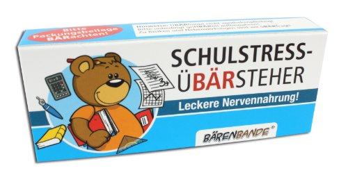 BärenBande Traubenzucker Schulstress-ÜBÄRsteher vom OBÄRarzt (Süßigkeiten Für Geschenke Kinder)