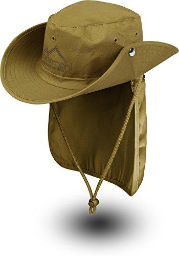 """Buschhut Outdoor Schlapphut """"Outback"""" mit abnehmbarem Nackenschutz Test"""