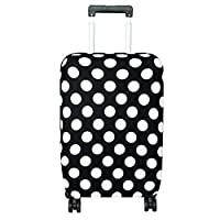 GLOGLOW Luggage Cover,Anti-Scratch Dustproof Suitcase Cover Elastic Seersucker Print Luggage Protector