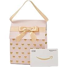 Amazon.de Geschenkgutschein in Geschenktasche (Rosa und Gold) - mit kostenloser Lieferung am nächsten Tag