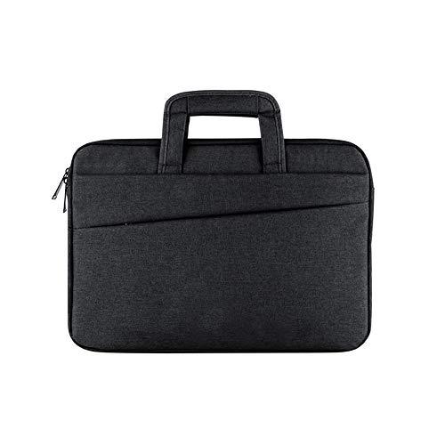 Laptoptaschengeschäftsaktenkoffer beiläufige Tablettasche ipad Notizbuchtasche Schwarzes 1