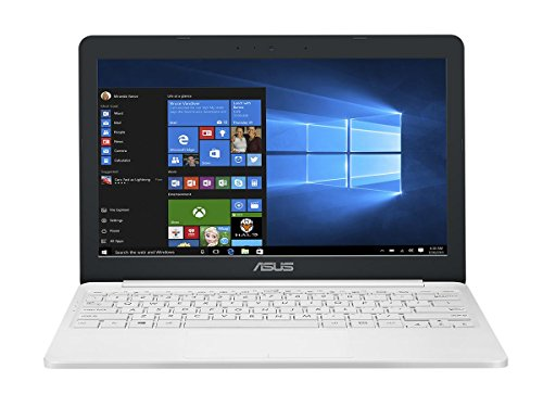 Asus VivoBook E12 E203NA 90NB0EZ1-M03290 29,4 cm (11,6 Zoll HD) Notebook (Intel Celeron N3350, 4GB RAM, 32GB EMMC, Intel HD Graphics, Windows 10) Perlweiß