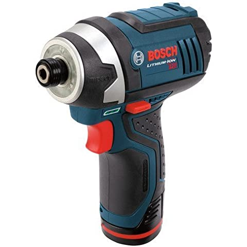 Factory Reconditioned Bosch PS41-2A-RT 12V Max Cordless Lithium-Ion Impact Driver Kit by (Cordless Impact Driver Kit)