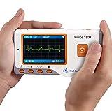 XKRSBS Monitor ECG Portatile avanzato Mini Monitor LCD Portatile ECG Health Monitor