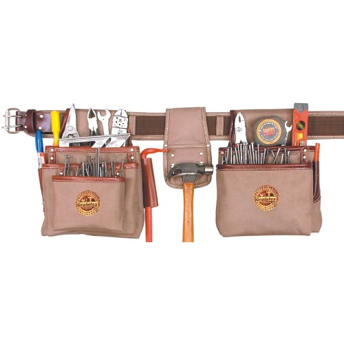 graintex am1575Ambassador Serie 15Pocket Professional Tool Pouch Set (Framer Tool-gürtel Leder)