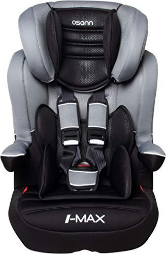 Osann 102-124-267 I-Max SP Isofix Kindersitz Gruppe 1/2/3 (9-36 kg) Kinderautositz Grau