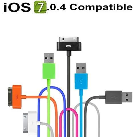 USB 8pin cavo di ricarica e sincronizzazione dati per iPhone
