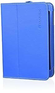 Snugg Étui Pour iPad Mini & Mini 2 – Smart Cover Avec Support Pied Et Une Garantie à Vie (En Cuir Bleu) Pour Apple iPad Mini & Mini 2