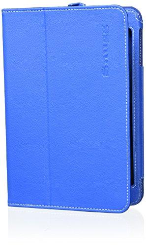 Snugg iPad mini & mini 2Hülle–Smart Cover mit flip Ständer (Electric Blue Leder) für Apple iPad Mini & Mini 2mit Retina