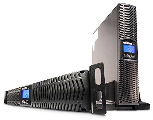 Minute Man e750rt2u 750VA 8sortie (S) AC Rack/Tour schwarz Netzteil Energie nicht unterbrechbar-Stromversorgung Energie nicht abschaltbarer (750VA, 600W, 80V, 164V, 101V, 136V) -