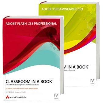 Flash CS3/Dreamweaver CS3-Bundle (Classroom in a Book) (Kunst-animation-programme)