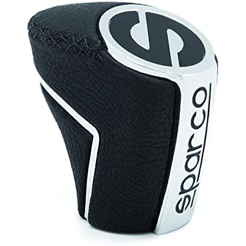SPC OPC01020000 Pomo Classic, Color Aluminio/Negro