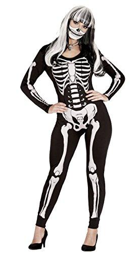 Guirca - Disfraz adulta skeleton, Talla 38-40 (88039.0)
