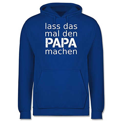 Vatertag - Lass das mal den Papa machen - Männer Premium Kapuzenpullover / Hoodie Royalblau