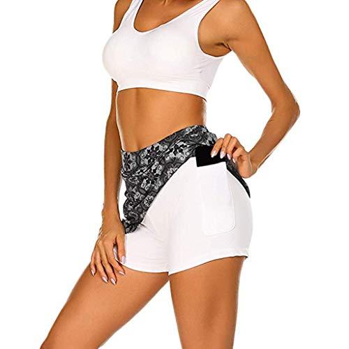 Skorts Performance Skirt Laufen Tennis Golf Workout Sports Schwarz Sport Leggings Lang Yoga Tight Übergroße High Wasit Stretch ()
