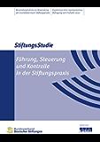 Führung, Steuerung und Kontrolle in der Stiftungspraxis: StiftungsStudie