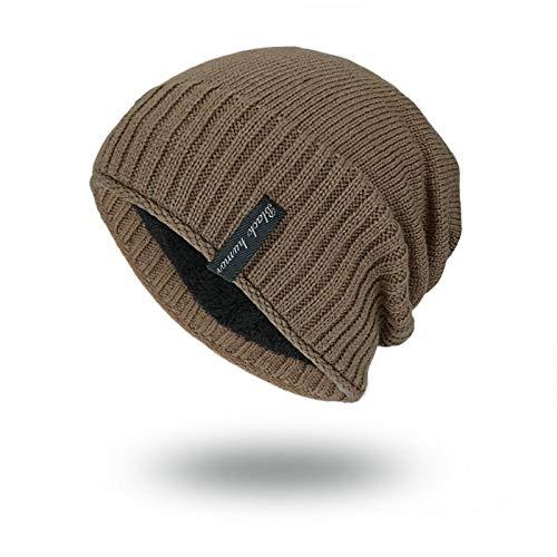 GYYCY Koreanische Warme Lange Standard Pullover Wollmütze Im Freien Hut