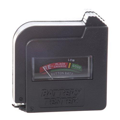 SODIAL (R) kompakten, einfach zu bedienende Akkulade Tester